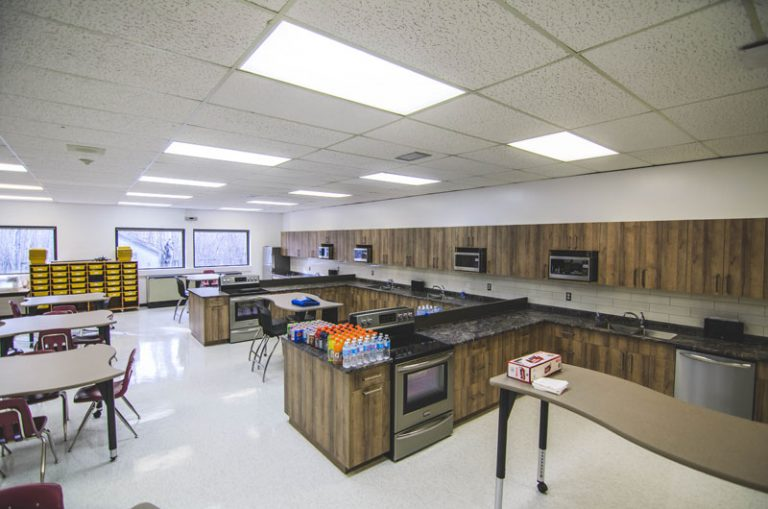 School Commercial Cabinets