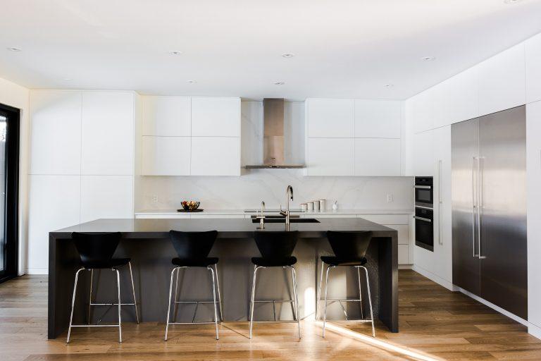 Matte White Kitchen